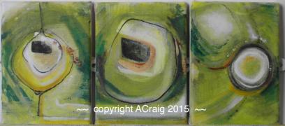 Gwynt triptych